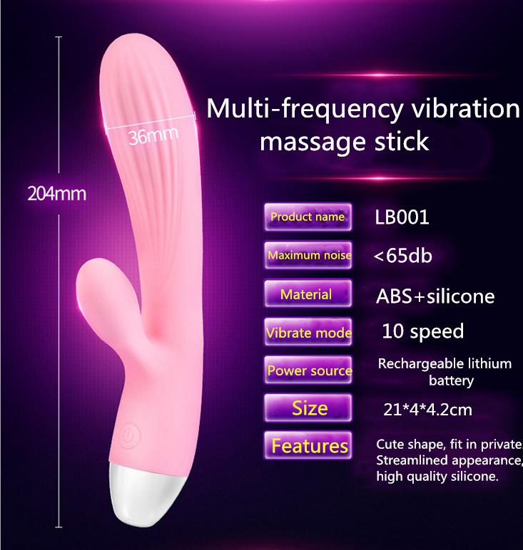 2020 Hot Silicone vibrator sex toy with battery power 30 mode function USB charge G-spot vibrators