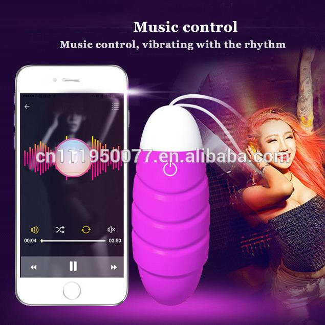 Hot Sale APP wireless remote vibrating jump egg